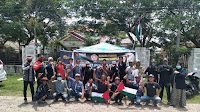 Peduli Palestina, Karang Taruna Simpang Mamplam Galang Dana