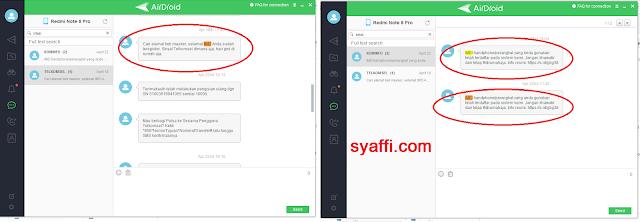 IMEI sudah terdaftar syaffi com