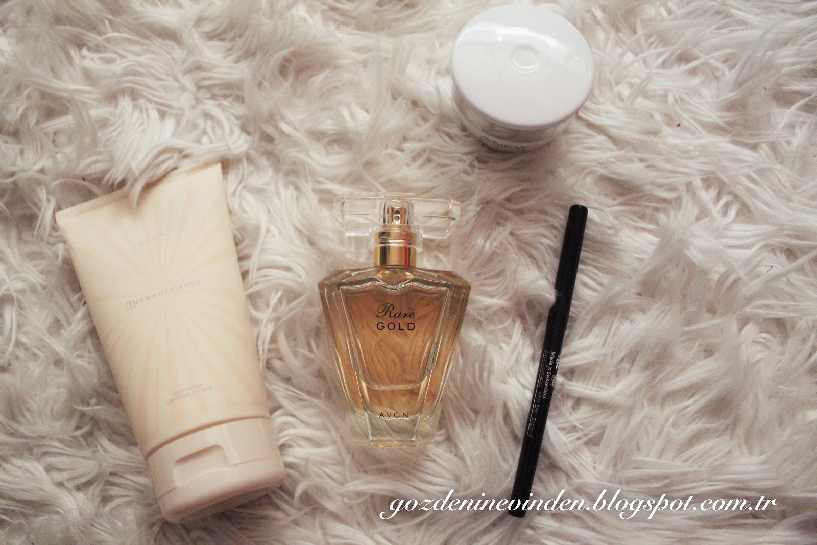 parfum avon rare gold