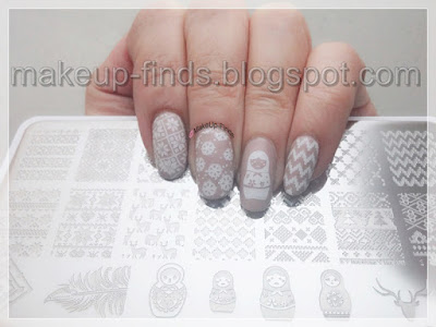 Stamping: Manicura Invernal 1ºLook (BP-L018)