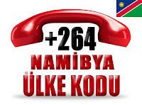 +264 Namibya ülke telefon kodu