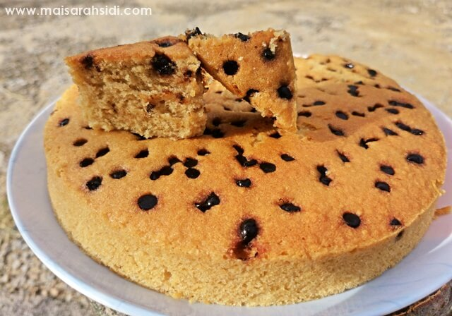 Resepi Kek Nestum Cip Coklat Gebu dan Lembut
