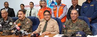 COE declara alerta verde para once provincias por incremento de lluvias