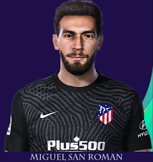 PES 2021 Faces Miguel San Roman by Rachmad ABs