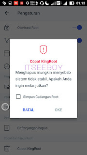 aplikasi king root