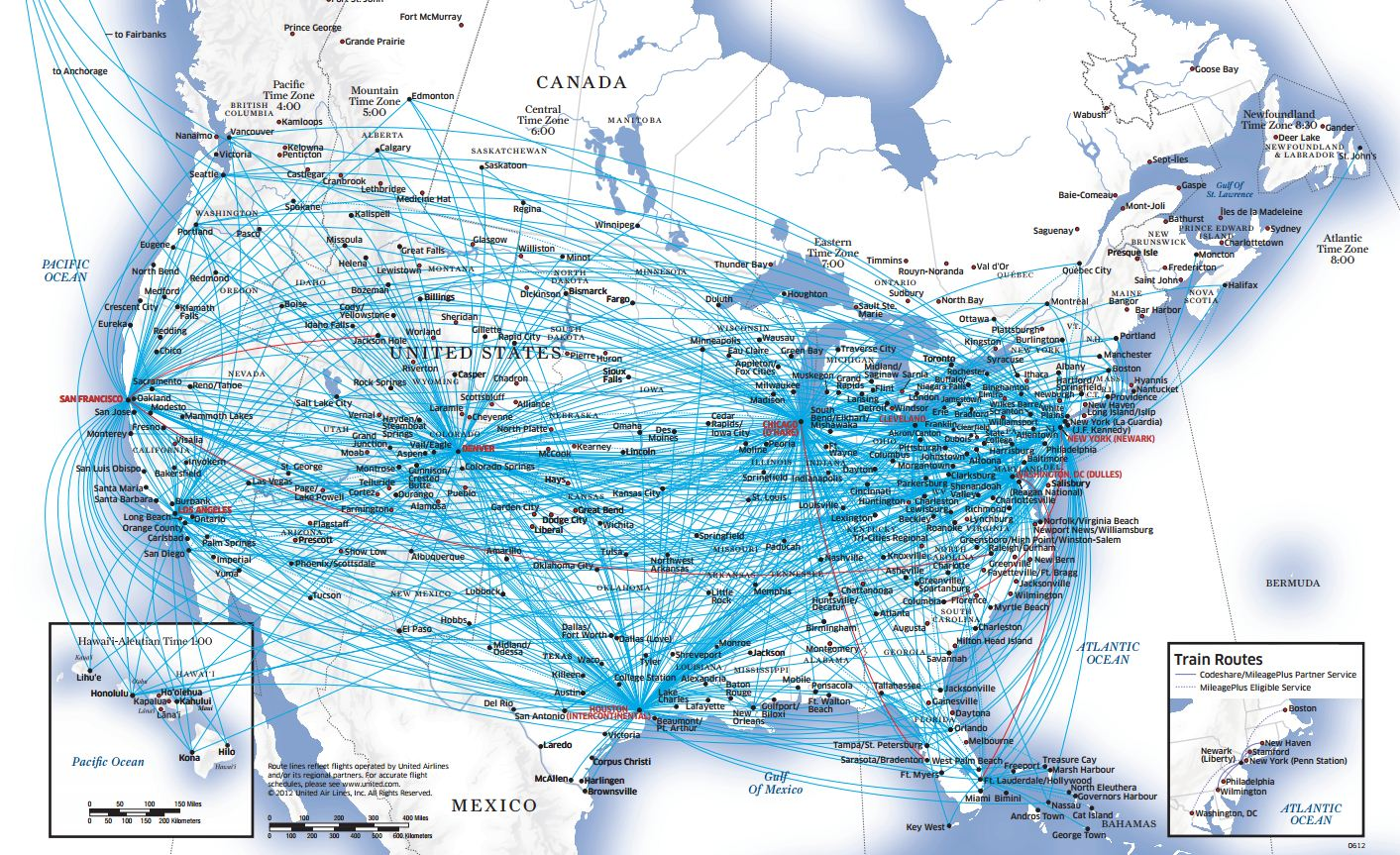 My Travel Pass Airline Route Maps