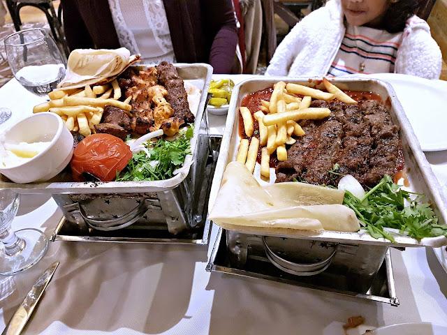 Assaha Mixed Grill and Khishkash Kebabs from Assaha, Kuwait