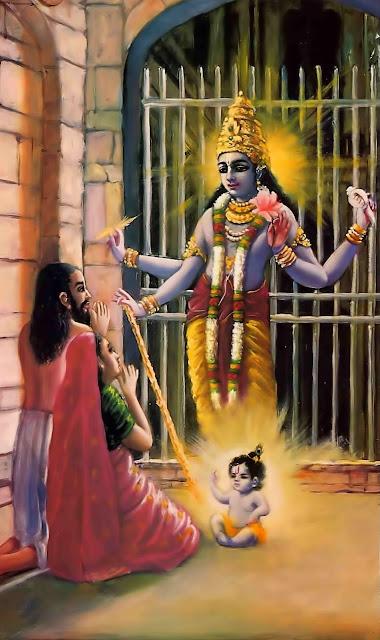 sri krishna born images