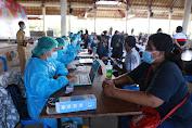 20 Warga Papua Tinggal di Klungkung Ikuti Vaksinasi Tahap Pertama