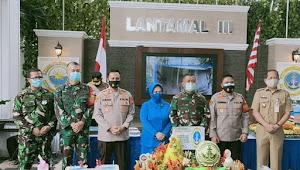 Sinergi TNI-Polri, HUT Lantamal III ke-70