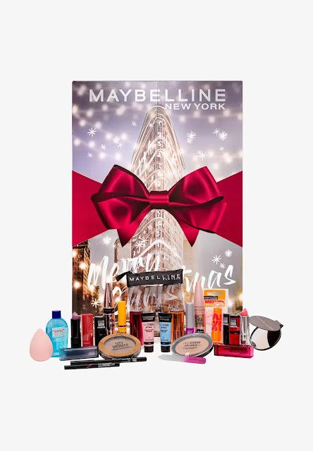 Kalendarz adwentowy Maybelline 2020