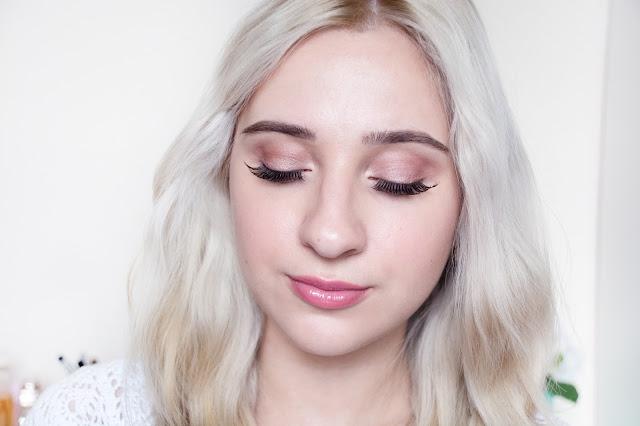 макияж в розовой гамме