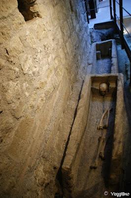 Sarcofagi rinvenuti nel Museo di Viterbo