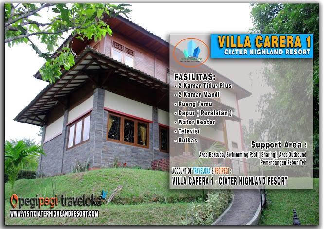 Sewa Villa Kayu Di Ciater Subang