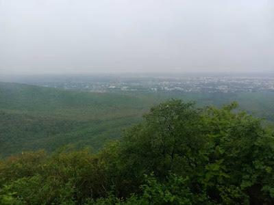 Junagadh-city-view-from-top-of-datar-hills