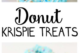 RECIPE - DONUT KRISPIE TREATS