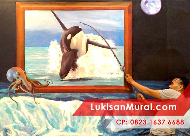 Mural 3d paintings