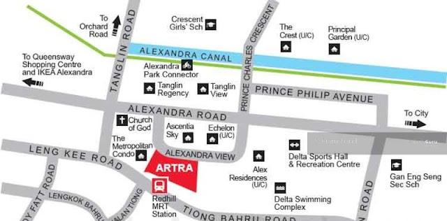 Artra @ Alexandra Location