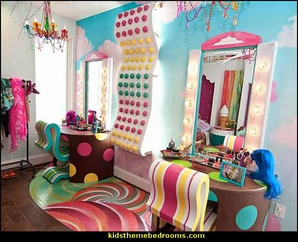decorating ideas beauty salon theme - Makeup Room Decor - hair and make up decorations - Decals for salon - beauty salon theme makeup-related products