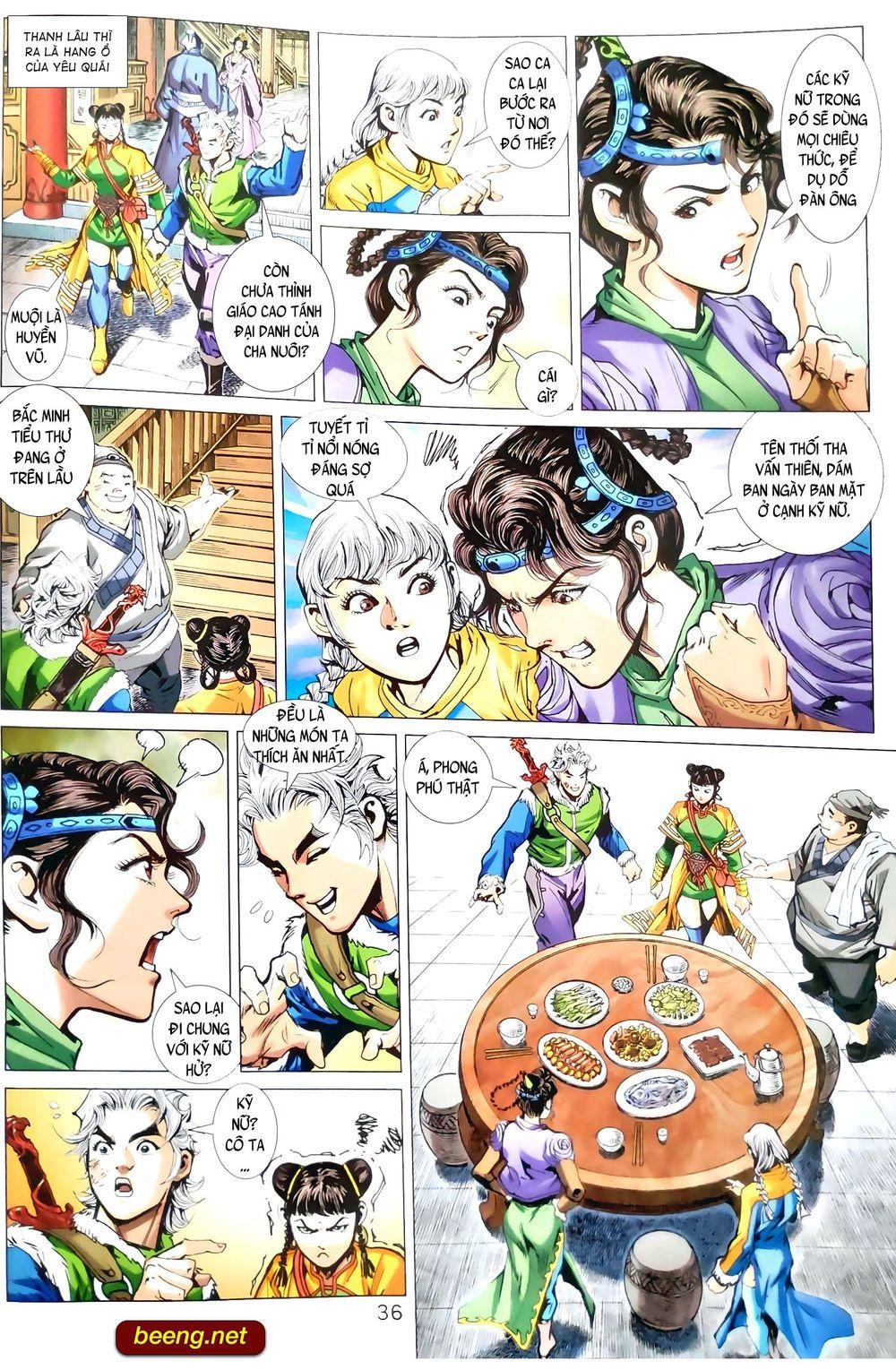 Thiên Yêu Huyền Kỳ  Chapter 1 - upload bởi truyensieuhay.com