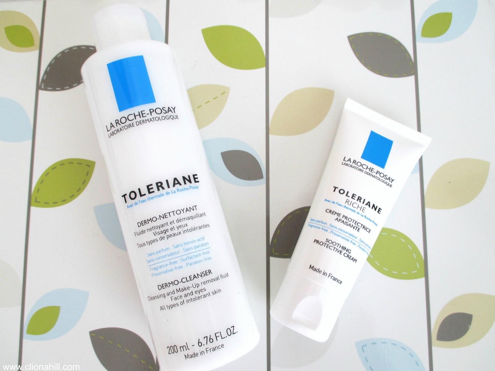 La Roche Posay Toleriane riche moistruiser & dermo-cleanser