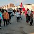 Ambulantes de mercado La Victoria reclaman a alcalde de la Esperanza que les dejen trabajar