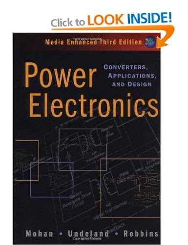 Power Electronics: Converters, Applications, and Design [Hardcover