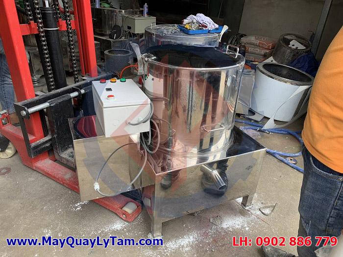 Máy vắt ly tâm inox dạng rỗ cho nhu cầu tách nước, tách dầu