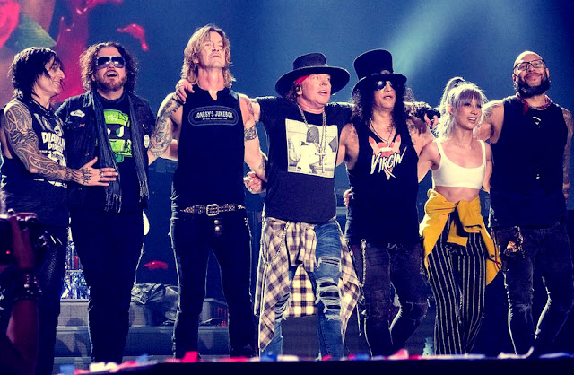 Guns N' Roses - The Forum, Los Angeles, Califórnia 29.11.2017