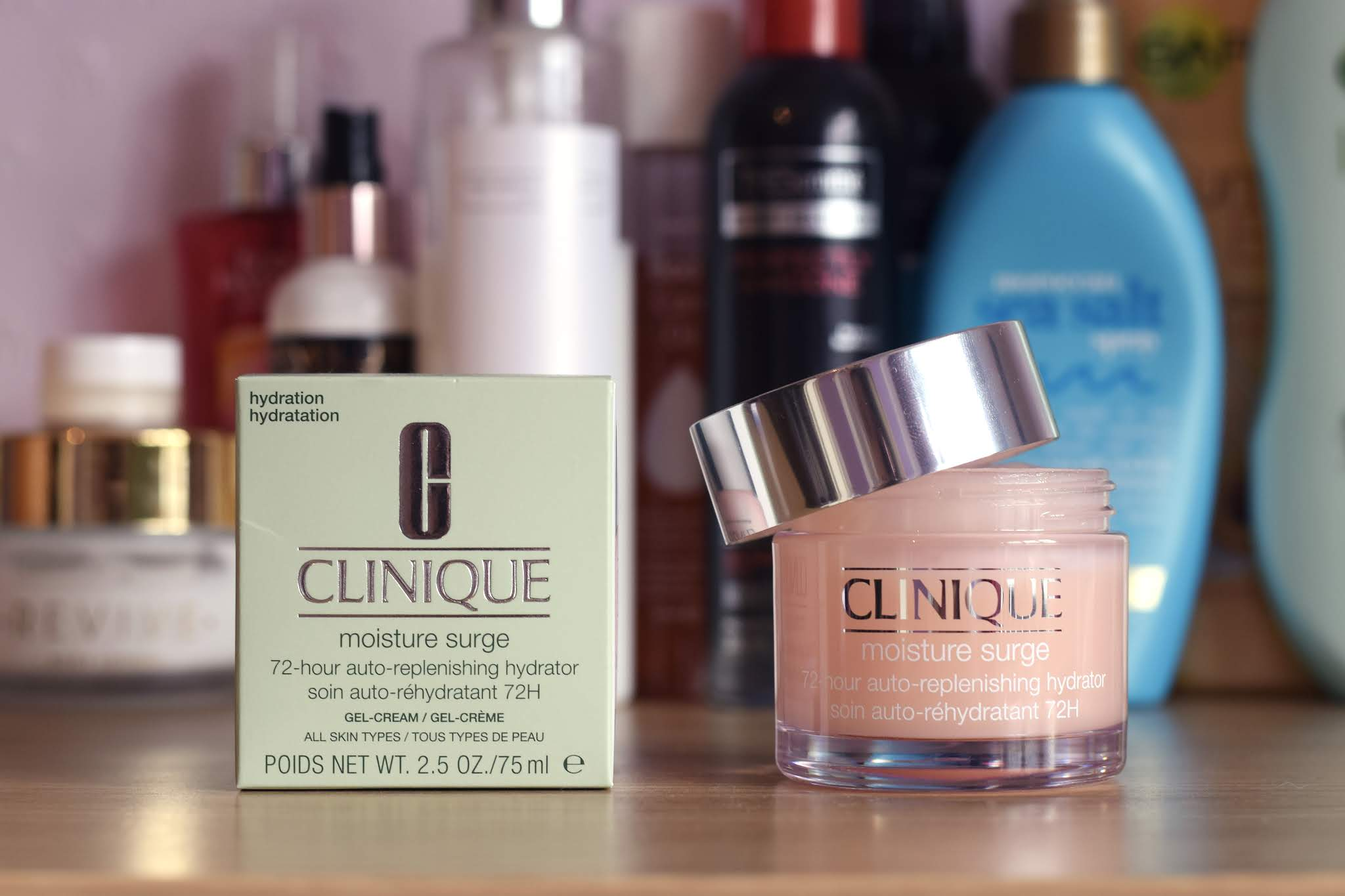 a pot of Clinique Moisture Surge