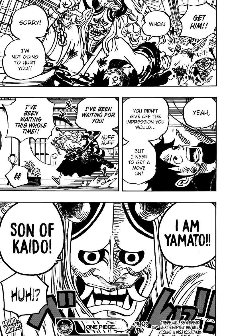 One Piece Manga Chapter 983 - Image 017