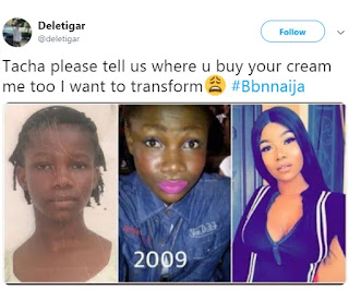 BBN 2019: Nigerians dig out Tacha old and shocking photos