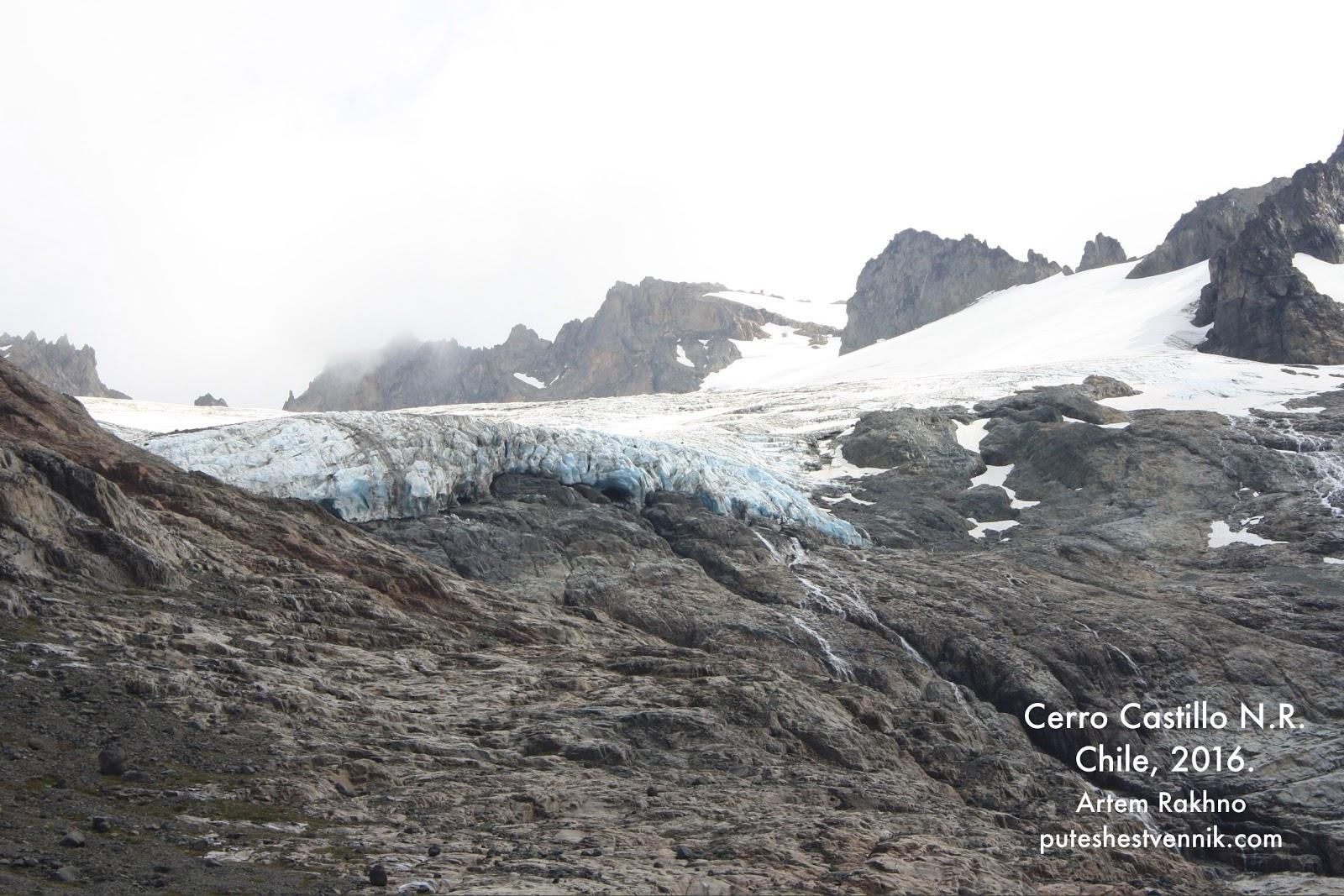 Льды и снега среди гор