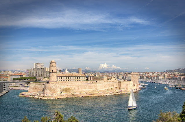 Fort Saint Jean e Saint Nicolas em Marselha