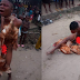 Omg! Teenager stripped naked, beaten up and paraded round the streets for allegedly stealing chickens on Christmas day