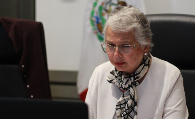 Las mujeres queremos vivir en un mundo fraterno, solidario, justo y democrático: secretaria Olga Sánchez Cordero