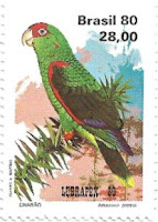 Selo papagaio-charão