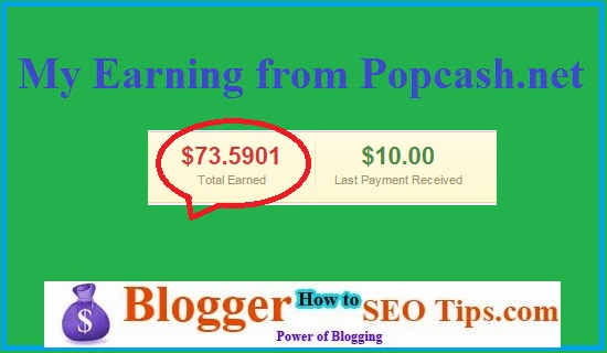 PopCash net Review 2019- CPM Rate, $117 81 Payment Proof