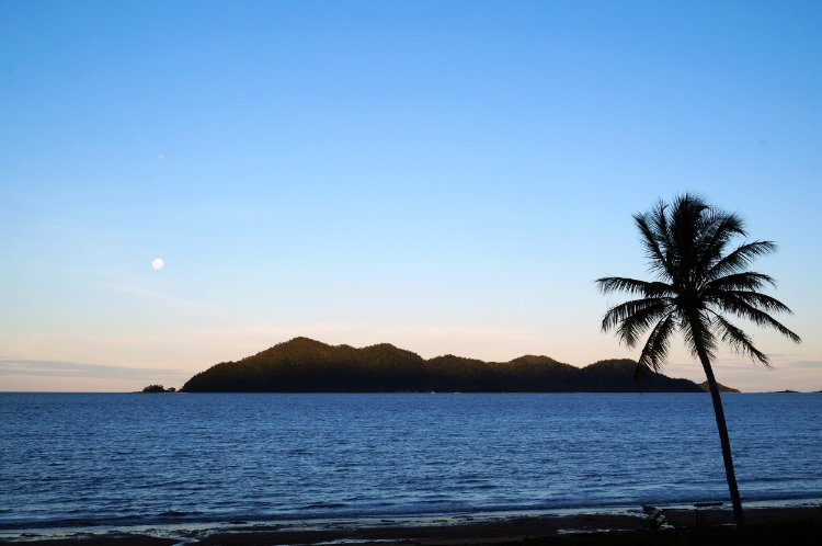 Windjana Beach House view of Dunk Island, Mission Beach, Australia, travel, Euriental
