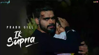 Checkout new song Ajeeb Supna lyrics penned by Vinder Nathumajra and sung by Prabh Gill