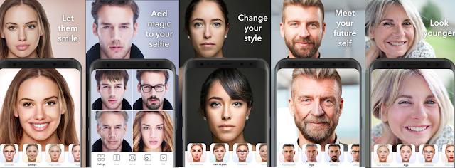 تطبيق FaceApp Pro لتغيير ملامح الوجه بطريقة احترافية