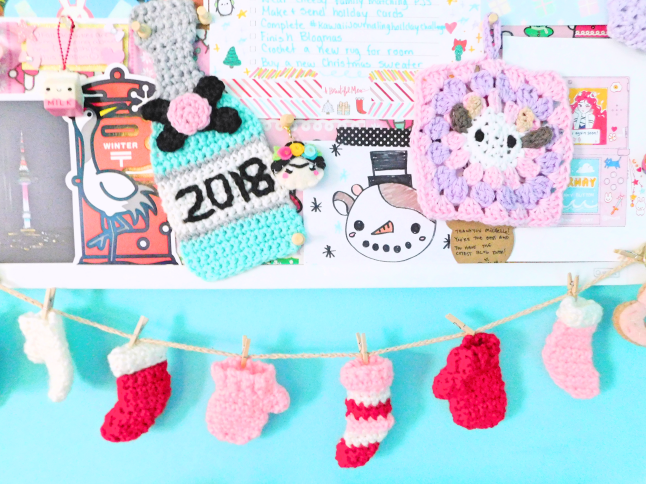 Winter Mood/Dream Board + Holiday Bucket List