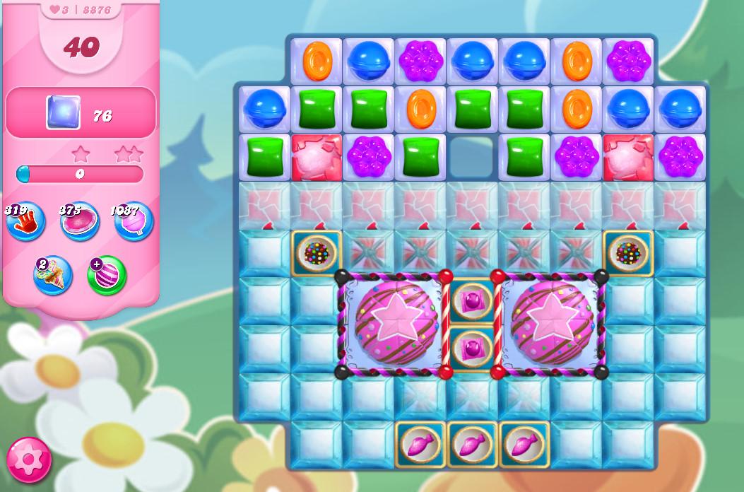 Candy Crush Saga level 8876