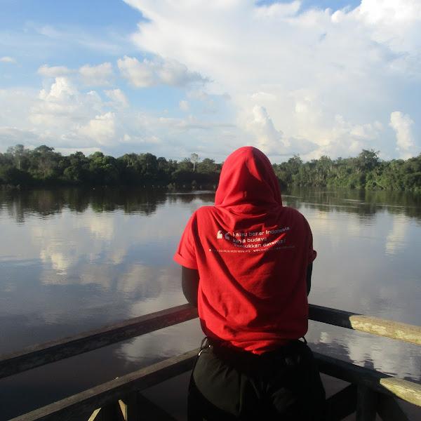 Menyusuri Sungai Sei Gohong, Desa Wisata Budaya Palangkaraya