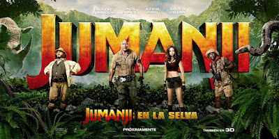 Jumanji: Welcome to the Jungle Banner Poster 2