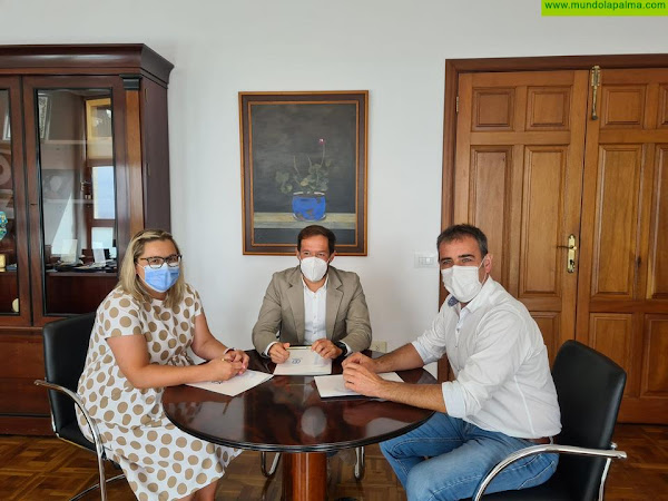 El Cabildo y el Ayuntamiento de San Andrés y Sauces comparten sus listas de personal por primera vez