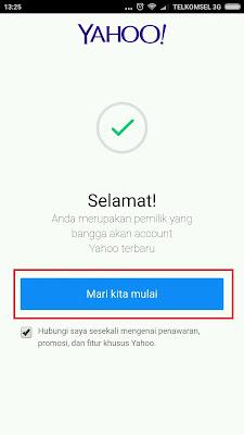 Cara Membuat Email Yahoo Baru Lewat HP Android