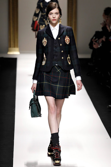 Vogue Moschino school uniform autumn 2013