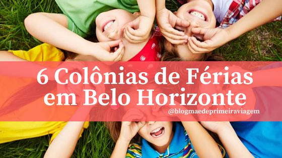 6 Colônias de Férias em Belo Horizonte