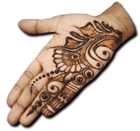 Simple Mehndi Design Stylish